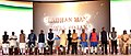 The Prime Minister, Shri Narendra Modi launching the projects under Pradhan Mantri Awas Yojana in Nagpur, at Indoor Sports Complex, Mankapur.jpg