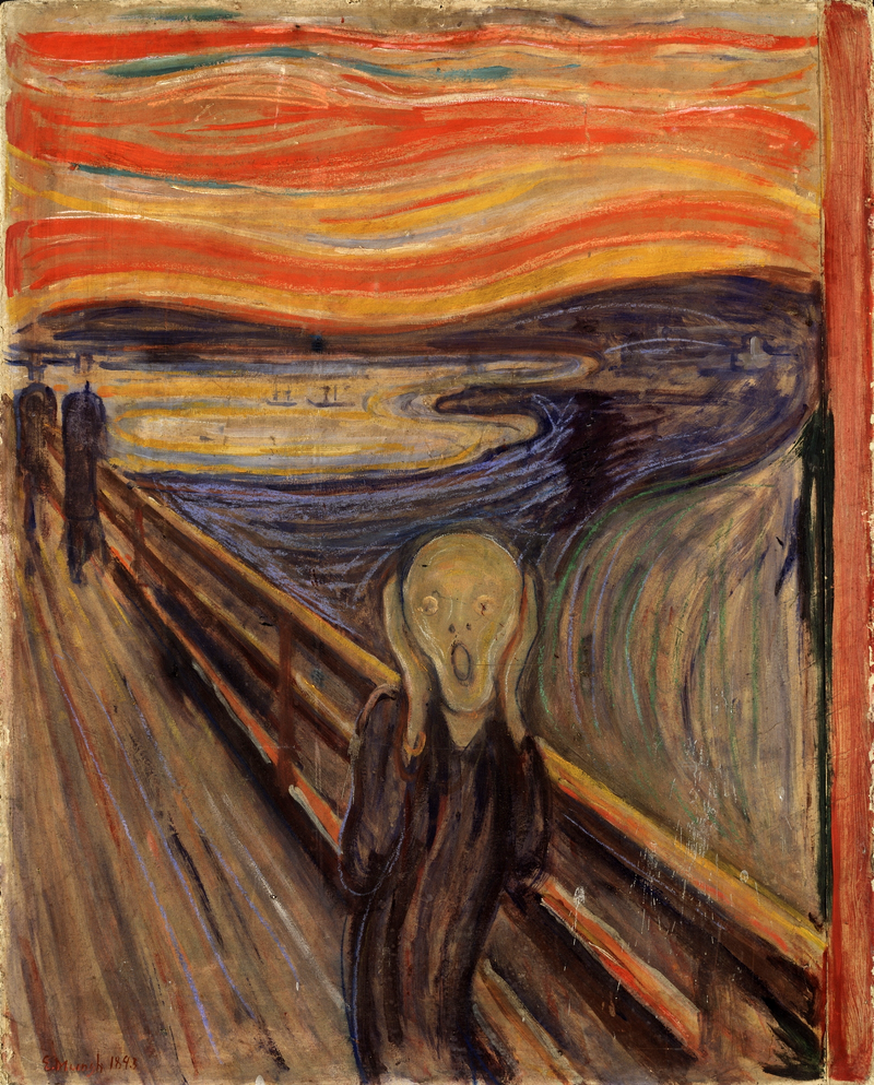 Today in history… anguish as 'The Scream' is snatched
