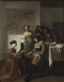 The Sleeping Officer (Jacob Ochtervelt) - Nationalmuseum - 17691.tif