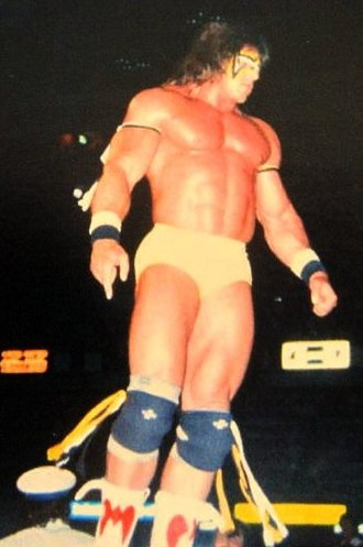 The Ultimate Warrior - Warrior at a WWF event