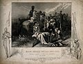 The death of General Sir Robert Sale on the battlefield. Eng Wellcome V0006902.jpg