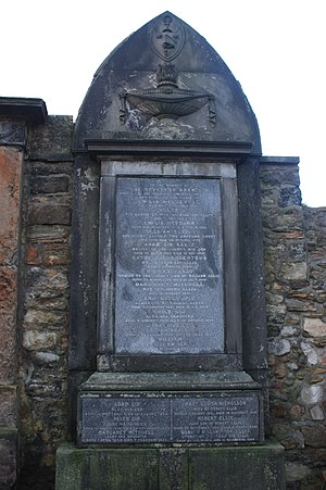 Adam Gib - The grave of Adam Gib, Greyfriars Kirkyard