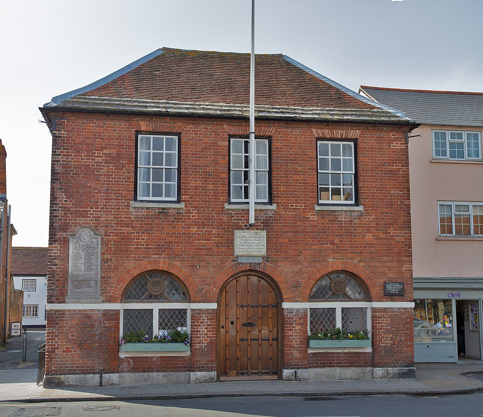 The town hall of Yarmouth