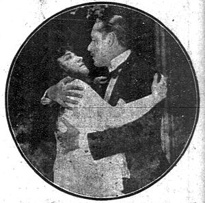The Hungry Heart - A contemporary newspaper publicity photograph