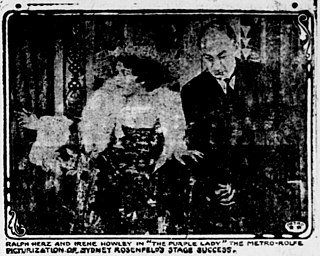 <i>The Purple Lady</i> 1916 film directed by George A. Lessey