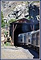 "This is the Eastbound California Zephyr entering a tunnel on Yuba pass California This Image also appears in 'Amtrak train Routes' Here is an interesting link to The rescue of SP's snowbound ""City of San Francisco""at Y - panoramio.jpg"
