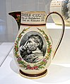 Thomas Carlyle pitcher, Josiah Wedgwood and Sons, Etruria, Staffordshire, England, 1881, glazed earthenware - Peabody Essex Museum - DSC07061.jpg
