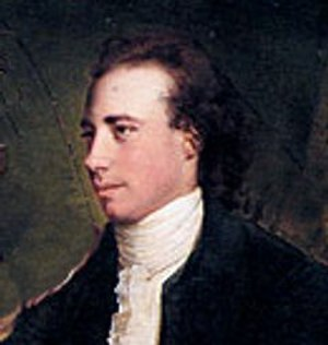 Thomas Gisborne - detail from Joseph Wright painting