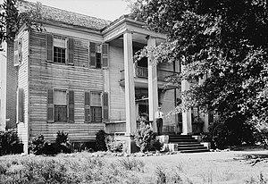 Thornhill (Talladega, Alabama) - 1935 HABS image