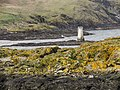 Thousla Rock Beacon, Calf Sound (geograph 2385290).jpg