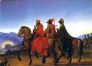 Leopold Kupelwieser - Journey of the Three Kings (1825)
