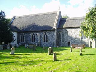 All Saints Church, Thurgarton Church in Norfolk, England