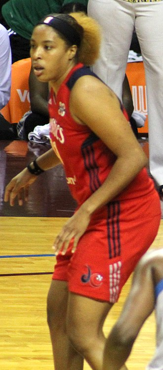 Tianna Hawkins - Hawkins during the 2017 WNBA Semifinals