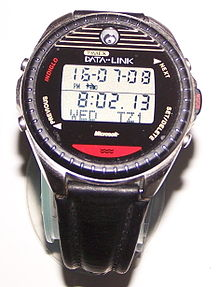 65e9765f8 Timex Datalink Model 150 as worn by commander William Shepherd during  Expedition 1 and cosmonaut Mikhail Tyurin, Expedition 14, on the ISS in 2006