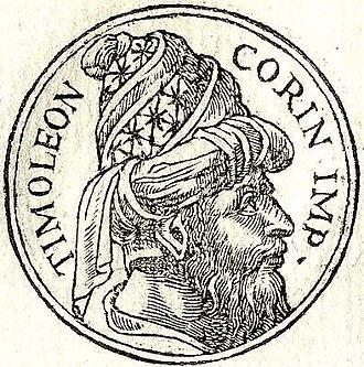 """Timoleon - Timoleon from """"Promptuarii Iconum Insigniorum"""""""