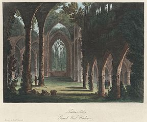Tintern Abbey, Grand West Window