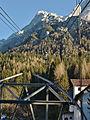 Tiroler Zugspitzbahn Blick von Talstation.jpg