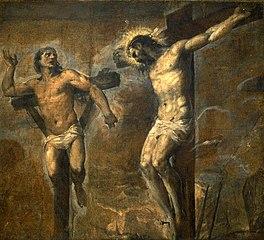 Gesù Cristo e il buon ladrone