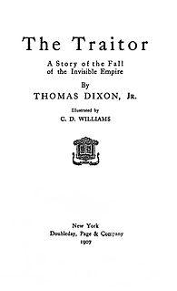<i>The Traitor</i> (Dixon novel)