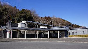 Tobu-Takezawa Station east entrance 20170211.jpg