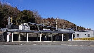 Ogawa, Saitama - Image: Tobu Takezawa Station east entrance 20170211