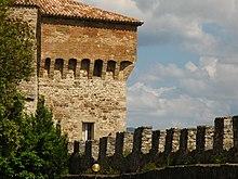 Le mura di Todi