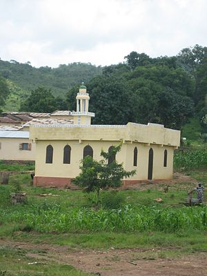 Islam in Togo - Mosque in northern Togo
