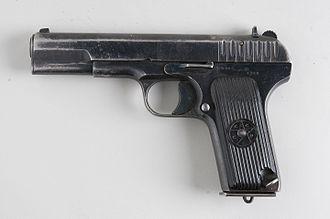 TT pistol - Tokarev TT-33