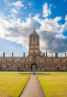Christ Church, Oxford Constituent college of the University of Oxford in England