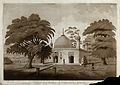 Tomb at Gaur, West Bengal. Etching by James Moffat after Hen Wellcome V0050450.jpg