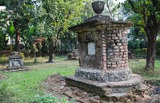 Chinsurah - Dutch cemetery