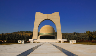 Tomb of the Unknown Soldier (Damascus) - The exterior of the tomb