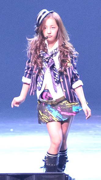 Tomomi Itano - Tomomi Itano performing at the Anime Expo AKB48 live in Los Angeles, 2010