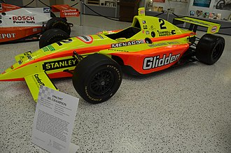 1996–97 Indy Racing League - Tony Stewart's championship car.