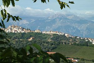 Torino di Sangro - The country and the mountain Majella