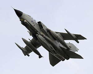 RAPTOR - An RAF GR4 equipped with a RAPTOR pod beneath its fuselage in 2007