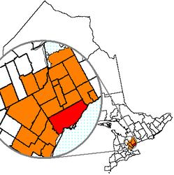 Toronto – Mappa