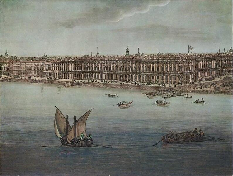 Файла:. Toselli - Панорама Санкт-Петербург, 1820 - (1) JPG