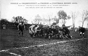 Stade Toulousain - Against the Racing club de France, 1912