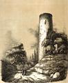 Tour Mélusine, croquis du Comte Émilien Rorthay de Monbail.png
