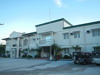 Bacolor, Pampanga - Façade of the town hall