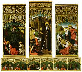 Triptych of Santa Clara