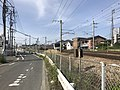Train of Kagoshima Main Line near Kashii Station.jpg