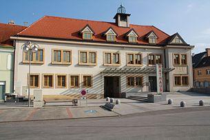 The town hall of Traiskirchen