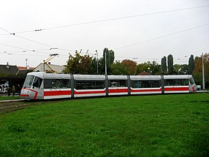 Škoda 13 T - Image: Tramvaj č. 1905
