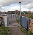 Trans Pennine Way - Flood Prevention Gate - geograph.org.uk - 751602.jpg