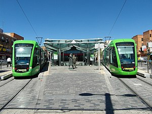 Parla Tram - Parla Tram station.