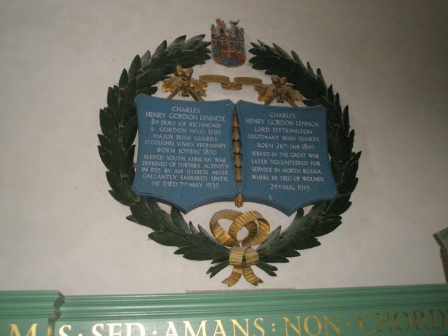 Tributes to a Duke and son within St. Mary and St. Blaise, Boxgrove - geograph.org.uk - 1725437