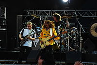 Triumph at sweden rock, 2008.JPG