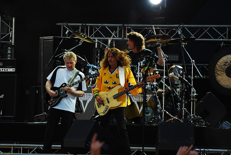 Triumph at sweden rock, 2008